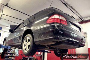 Problem DPF Mercedes W211 E 320 CDI 204 KM