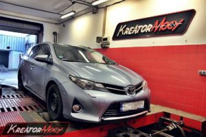chip tuning toyota auris 2 0 d4d 126 km kreator mocy. Black Bedroom Furniture Sets. Home Design Ideas