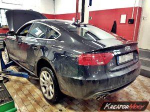 Zapchany DPF Audi A5 2.0 TDI CR 190 KM (CNHA)
