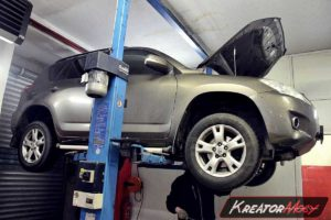 Usunięcie zapchanego DPF Toyota RAV4 2.2 D4D 150 KM