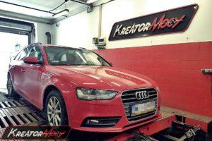 Chip tuning Audi A4 B8 2.0 TFSI 211 KM (CDNC)