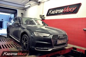 Chip tuning Audi A4 B9 Allroad 2.0 TDI CR 190 KM (DETA