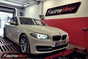 Chip tuning BMW F10 518d 2.0d 150 KM