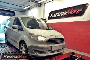 Chip tuning Ford Transit Courier 1.5 TDCI 75 KM