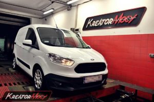 Chip tuning Ford Transit Courier 1.5 TDCI 95 KM