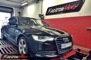 Remap Audi A6 C7 2.0 TFSI 180 KM (CAEB)