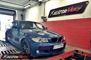 Chip tuning BMW E87 120d 2.0d 163 KM