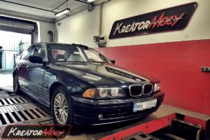 Remap BMW E39 530d 3.0d 193 KM
