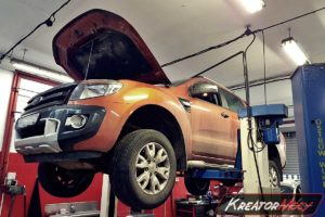 Usuwanie DPF Ford Ranger 3.2 TDCI 200 KM