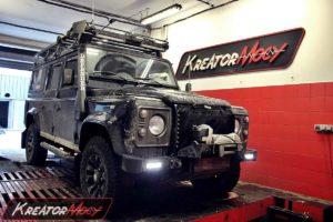 Remap Land Rover Defender 2.2 TD4 122 KM