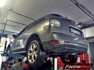 Problem DPF, Problem SCR Adblue Mazda CX-7 2.2d 173 KM