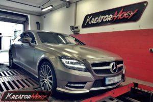 Remap Mercedes C218 CLS Shooting Brake 350 CDI 265 KM