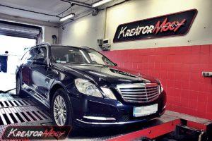Remap Mercedes W212 E 300 CDI 231 KM