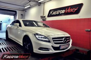 Chip tuning Mercedes W218 CLS 550 4.7 BiTurbo 408 KM