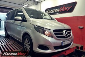 Chip tuning Mercedes W447 V 200 CDI 136 KM