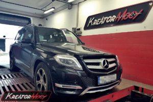 Remap Mercedes X204 GLK220 CDI 170 KM