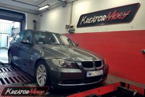 Chip tuning BMW E90 318d 2.0d 122 KM