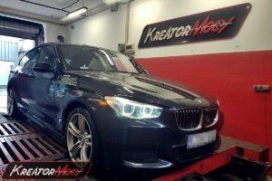 Chip tuning BMW 5 GT F07 530d 3.0d 258 KM