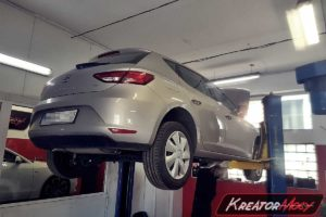 Problem DPF Seat Leon 5F 1.6 TDI CR 105 KM