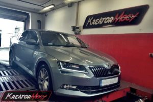 Chip tuning Skoda Superb III 2.0 TDI CR 150 KM (CRLB