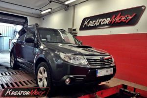 Remap Subaru Forester 2.0D 110 kW 150 KM