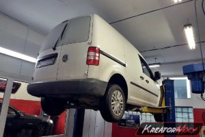 Problem DPF VW Caddy 1.6 TDI CR 75 KM