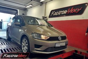 Chip tuning VW Golf Sportsvan 1.2 TSI 110 KM (CYVB)
