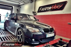 Chip tuning BMW E60 530d 3.0d 235 KM
