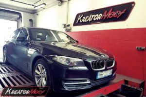 Chip tuning BMW F10 518d 2.0d 136 KM