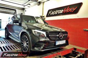 Chip tuning Mercedes X253 GLC 43 AMG 3.0 V6 367 KM