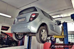 Usuwanie DPF Chevrolet Aveo II 1.3d LTZ 95 KM