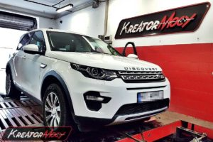 Chip tuning Land Rover Discovery Sport 2.0 TD4 180 KM
