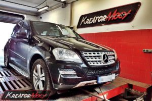 Chip tuning Mercedes W164 ML 300 CDI 204 KM