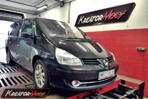 Chip tuning Renault Espace 2.0 DCI 173 KM