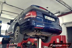Problem DPF VW Golf VI 2.0 TDI CR 140 KM