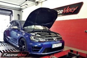 Remap VW Golf 7 R 2.0 TSI 300 KM DSG (CJXC)