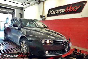 Chip tuning Alfa Romeo 159 1.9 JTDM 115 KM