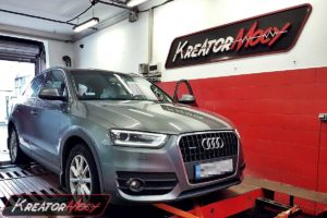 Chip tuning Audi Q3 2.0 TDI CR 140 KM (CFFB)