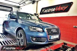 Chip tuning Audi Q5 2.0 TDI CR 170 KM (CAHA)