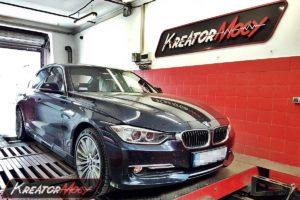 Remap BMW F30 320d 184 KM 135 kW