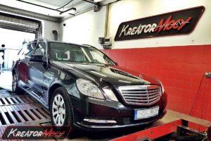 Chip tuning Mercedes W212 E 200 CDI 136 K