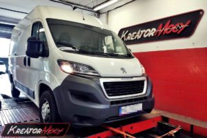 Chip tuning Peugeot Boxer II 2.2 HDI 110 KM SID208