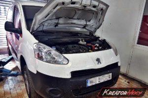 Zapchany DPF Peugeot Partner II 1.6 HDI 75 KM