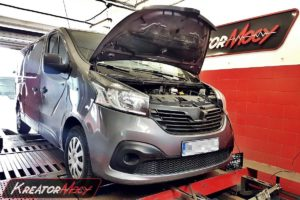 Chip tuning Renault Trafic III 1.6 DCI 90 KM
