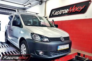 Remap VW Caddy II 1.6 TDI 75 KM (CAYE)