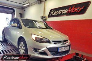 Chip tuning Opel Astra J 1.4 Turbo 140 KM