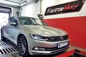 Chip tuning VW Passat B8 2.0 TDI CR 240 KM 4Motion DSG (CUAA)