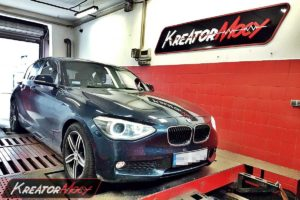 Chip tuning BMW 1 F20 118d 2.0d 143 KM 105 kW