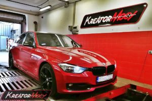 Chip tuning BMW F30 320d 2.0d 163 KM