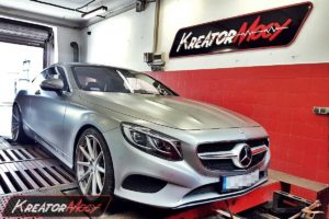 Chip tuning Mercedes C217 S Coupe 400 3.0 V6 367 KM